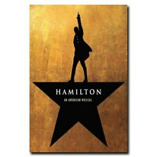 Hamilton 24x36inch Music Band Silk Poster Art Print Hot Wall Decoration