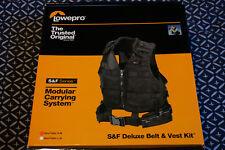 Veste et ceinture Lowepro (S&F Deluxe Belt & Vest Kit) Taille S-M