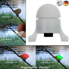 4 LED Bissanzeiger Nachtangeln Strike Alert Aal Waller elektronischer Bite Alarm