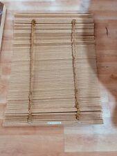 """Woven bamboo cordless roman shade-gables 35"""" x 66"""""""