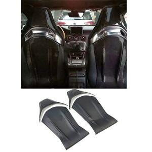 Carbon fiber seat back cover trim performance seat For Mercedes  bnez c63 A45