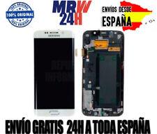 Pantalla Completa Samsung Galaxy S6 Edge BLANCO  100% Original y NUEVO