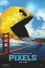 Pixels - original DS movie poster - 27x40 D/S - Pacman - Adam Sandler