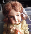 Antique Armand Marseille A 1 1/2 M 390 Bisque Composition Germany Girl Doll 17""