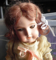 """Antique Armand Marseille A 1 1/2 M 390 Bisque Composition Germany Girl Doll 17"""""""