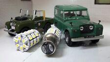 Land Rover Serie 1 2 LED Combinado Indicador Luz Lateral Ámbar/Blanco Bombillas