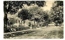 Pleasantville NY - VIEW ALONG BEDFORD ROAD - Postcard