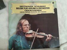 Gidon Kremer - Beethoven, Schubert, Music for Violin & Orchestra LP
