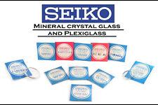 SEIKO Crystal Glass / Plexiglas Japan Watch Original Genuine Rare Vintage NOS
