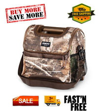 Laguna Gripper 18-Can Lunch Cooler Bag - Realtree Brown Camo Soft Sided Foam 18