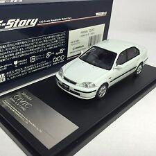 1/43 Hi-Story GICO Honda CIVIC FERIO Si II 1996 White #HS143WH