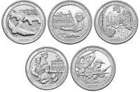 2017 National Park Quarters - Complete 10 Quarter P&D Set - US Mint **IN HAND**