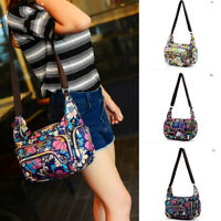 Women Multi Pocket Messenger Cross Body Handbag Ladies Hobo Bags Shoulder Bag A