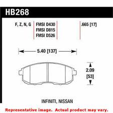 Hawk 'Performance Street' Brake Pads HB268F.665 Fits:INFINITI 1999 - 2001 G20