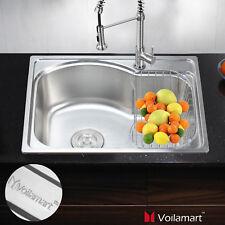 square stainless steel kitchen sink for sale ebay rh ebay co uk