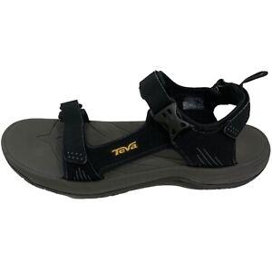 Teva Holliway Waterproof Sandals Men's 14 Gray Black Ankle Strap Sport 1006912