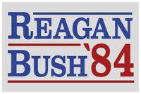 Ronald Reagan George Bush 1984 Campaign Poster 12x18 inch