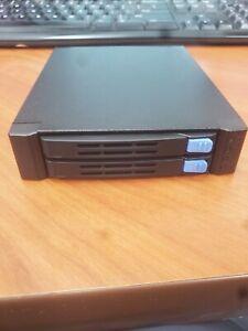 Chenbro SK51201 2-bay 2.5 inch HDD/SSD Enclosure SAS & SATA