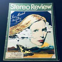 VTG Stereo Review Magazine April 1976 - Joni Mitchell, Preservation of Innocence