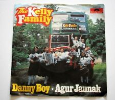 THE KELLY FAMILY--DANNY BOY AND AGUR JAUNAK--45RPM FROM POLYDOR RECORDS--1978