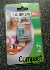 Fujifilm Digital Memory Card Compact Flash CF 64mb NEW SEALED