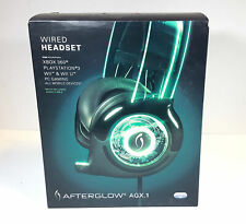 Afterglow Wired Headset (Green) PDP Pl3770 Universal PS3 PS4 Xbox 360 One