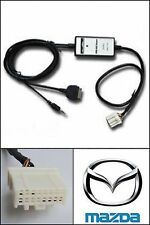 Stereo iPod iPhone Aux Adapter Interface Select Mazda 3 5 6 Miata RX8 OEM Radio