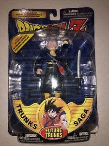 Dragonball Z Trunks Saga FUTURE TRUNKS Action Figure NIB 2000 (9)