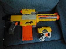 NERF N STRIKE ELITE SOFT DART RECON CS-6 GUN TOY + PISTOL & LIGHT HASBRO 2007
