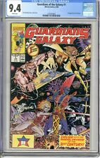 Guardians of the Galaxy #1  CGC 9.4  NM  White pgs 6/90  1st App. Taserface If i