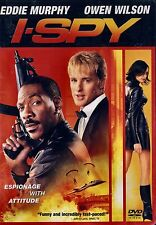BRAND NEW DVD //  I Spy  // Eddie Murphy, Owen Wilson,  Malcolm McDowell,