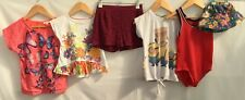 Girls Bundle Clothes Of Clothing 5-6 <H2043