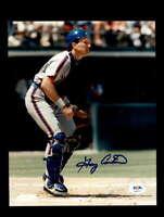 Gary Carter PSA DNA Cert Hand Signed 8x10 Photo Mets Autograph