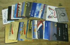 Lot of 43 Obsolete Credit Charge Cards