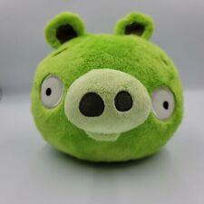 "Angry Birds Green Bad Pig 8"" Plush Commonwealth NO SOUND 2010 Stuffed Piggies"