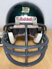 Riddell VSR4 Youth Large Football Helmet (Metallic Hunter Green W/ Gray FM)
