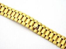 20mm GOLD PLATED PRESIDENT BRACELET FOR ROLEX DATE JUST 116233 UK STOCK