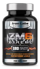 ZM6 Xtreme | 2,110mg x 180 Vegetarian Capsules | zinc magnesium (ZMA) supplement