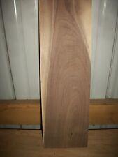 """1 Pc Rustic Walnut Lumber Wood Kiln Dried Board 3/4"""" Thick Lot 607N"""