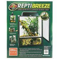 Zoo Med ReptiBreeze Open Air Black Aluminum Screen Cage(s/ m/ l /xl)FreeShipping