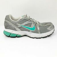 Nike Womens Air Citius 2 366421-002 Grey Silver Running Shoes Lace Up Size 9