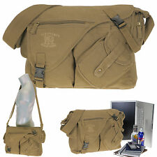 Laptop Tasche Canvas Jack Laptoptasche Schultertasche Herren Damen 11822 Nature
