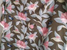 Osborne & Little Bernhardt Floral Printed Linen Fabric full width x 3.00m