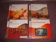 JOBLOT 4 Classic FM Decca CD Verdi/Faure/Orff/Classic Commercials