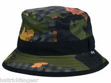 LIFTED RESEARCH GROUP LRG L47  BLACK/CAMOUFLAGE BUCKET STYLE CAP/HAT