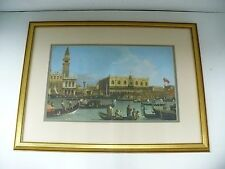 The Bacino di San Marco On Ascension Day By Canaletto Framed
