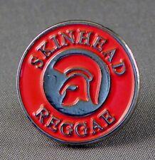 SKINHEAD REGGAE - LAPEL PIN BADGE - SKINS DUB SKA ROCK MUSIC SOUL PUNK   234