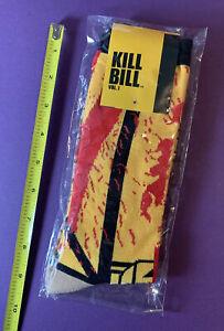 Kill Bill Vol 1 The Bride Socks Loot Crate Exclusive by Miramax NIP Men's  9-11