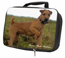 More details for lakeland terrier 'love you mum' black insulated school lunch box b, ad-lt1lymlbb