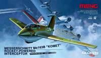 Meng Messerschmitt Me163B Cometa Roket-Powered Fighter 1 :3 2